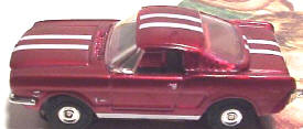 1965 Mustang 2+2 Fastback HO Slot Car